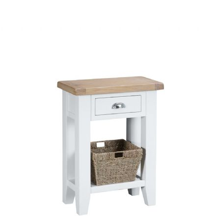 Toulouse White Telephone Table